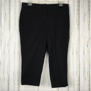 Talbots Petites The Perfect Crop Curvy Pants